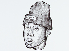 Original Art by Marlo Broughton - Tyler, The Creator