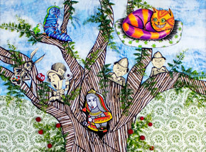 Original Art by Mary Williams - - Go Ask Alice -