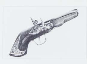 Original Art by Mary Williams - Pick Your Weapon 5