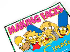 Art by Matt Groening - Making Faces: The Simpsons