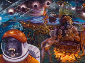 Art Print by Mear One - Dawning Of A New Age