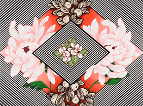 Art Print by Ouizi X Michelle Tanguay - Floral Corral