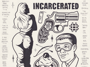 Original Art by Mike Giant - Incarcerated - Original Artwork