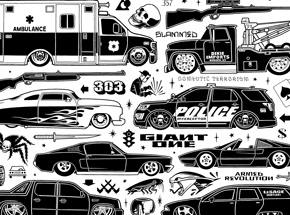 Art Print by Mike Giant - Slammed - Limited Edition Prints