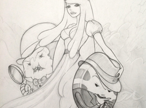 Original Art by Mimi Yoon - Adventure Time - Sketch 1