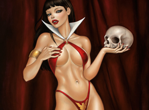 Art Print by Mimi Yoon - My Vampirella - Limited Edition Prints