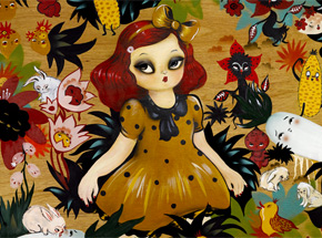 Art Print by Misery - Momoka & The Vampire Night Garden - Limited Edition Prints
