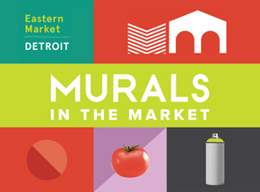 Art by Inner State Gallery Presents - Murals In The Market 2016 Exhibition