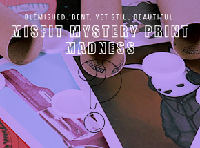 Art Collection by 1xRUN Presents - Misfit Mystery Print Madness
