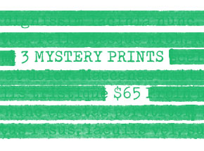 Art Print by 1xRUN Presents - 3 Mystery Prints