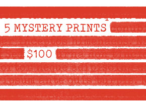 Art Print by 1xRUN Presents - 5 Mystery Prints