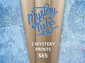 Art by 1xRUN Presents - 3 Mystery Prints