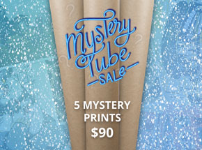 Art by 1xRUN Presents - 5 Mystery Prints