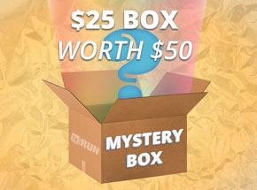 Art by 1xRUN Presents - $25 Mystery Box - WORTH $50!