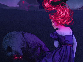 Art Print by Natalia Rak - Midnight