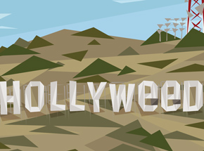 Art Print by Naturel - Hollyweed - 26x36 Inch Edition