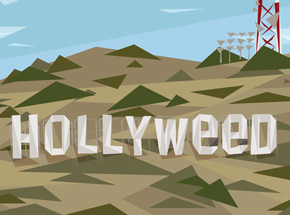 Art Print by Naturel - Hollyweed - 18x24 Inch Edition