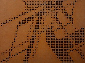 Art by Nawer - Perforation - Steel Edition