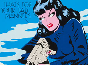 Art Print by Niagara - Artist Proof - That's For Your Bad Manners