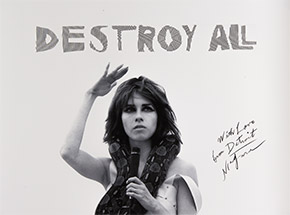 Art Print by Niagara - Destroy All - With Love - Signed Poster