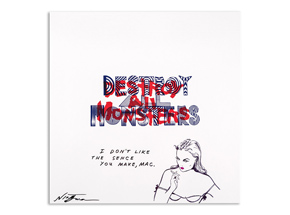 Art by Niagara - Hand-Painted Destroy All Monsters Box Set - 04