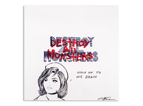 Art by Niagara - Hand-Painted Destroy All Monsters Box Set - 06
