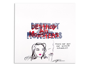 Art by Niagara - Hand-Painted Destroy All Monsters Box Set - 08