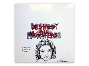 Art by Niagara - Hand-Painted Destroy All Monsters Box Set - 09