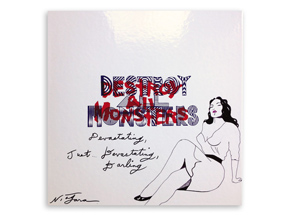 Art by Niagara - Hand-Painted Destroy All Monsters Box Set - 10