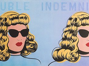 Art by Niagara - Double Indemnity - #1<br>