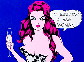 Art Print by Niagara - I'll Show You A Real Woman - Limited Edition Prints