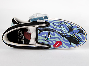 Clothing by Niagara - M4.5 / W6 - You'll Tell Nobody Nothing - Slip-Ons