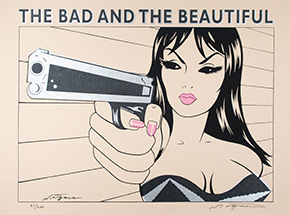 Art by Niagara - - The Bad And The Beautiful -