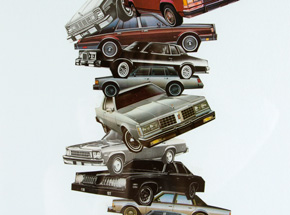 Original Art by Nick Jaskey - Car Pile