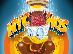 Art Print by Nychos - Silly Slicesophy