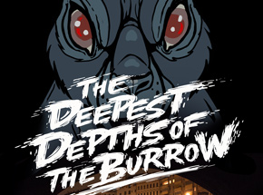 Art Print by Nychos - Deepest Depths Of The Burrow - Movie Poster