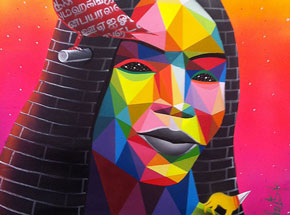 Original Art by Okuda - Cement Queen