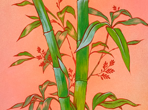 Original Art by Ouizi - The Noble Bamboo Of Summer