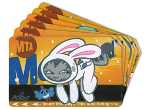 Art by Bunny Kitty - MTA Card - 6 Card Set