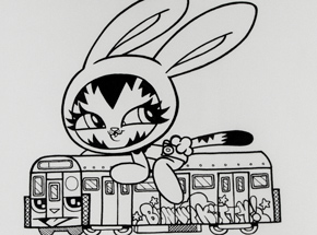 Original Art by Persue - Runaway Train