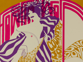 Art by Peter Bailey - Howlin\' Wolf, Country Joe & The Fish at Fillmore - April 1967