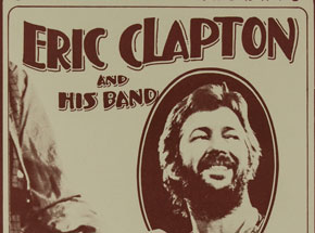 Art by Randy Tuten - Eric Clapton and His Band at Oakland Coliseum - February