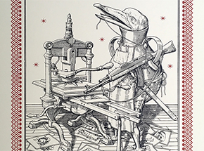 Art Print by Ravi Zupa - Bird Pot - Limited Edition Prints