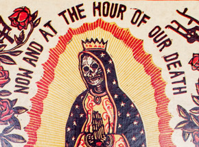 Original Art by Ravi Zupa - Now And At The Hour Of Our Death 1 - Original Artwork