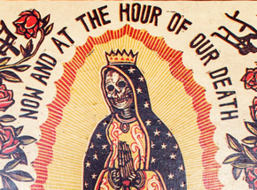 Original Art by Ravi Zupa - Now And At The Hour Of Our Death 3 - Original Artwork