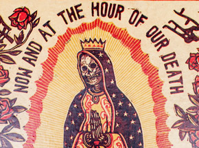 Original Art by Ravi Zupa - Now And At The Hour Of Our Death 4 - Original Artwork