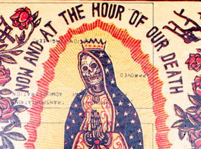Original Art by Ravi Zupa - Now And At The Hour Of Our Death 5 - Original Artwork