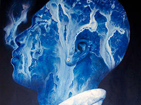 Original Art by Reinier Gamboa - Frozen