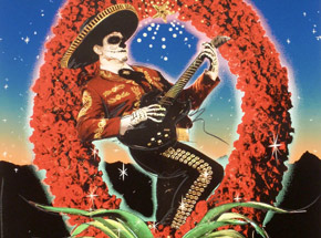 Art Print by Richard Duardo x Kate Turning - Mariachi Calavera