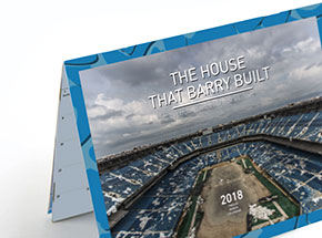 Book by Rick Williams - The House That Barry Built- 2018 Silverdome Farewell Calendar